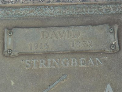 """The grave of Stringbean and several other stars are located on the narrow median of the entrance drive known as """"Music Row."""""""