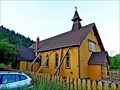 Image for [DESTROYED] St. Mary's and St. Paul's Anglican Church - Lytton, BC