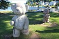 Image for Bear Statues, Riverside Park - Saranac Lake, NY