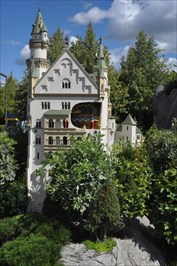 Schloss Neuschwanstein in Miniaturform