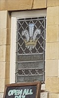 Image for Stained Glass Window - The Prince of Wales Feathers - Castor, Cambridgeshire