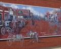Image for Historic Route 66 - Davenport Broadway Mural - Oklahoma, USA.