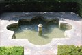 Image for Jardines Bajos del Generalife, Palace entrance fountain (Alhambra) - Granada, Spain
