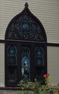 Image for Front Stained Glass Window-St. Paul's Lutheran Church - Lutherville MD
