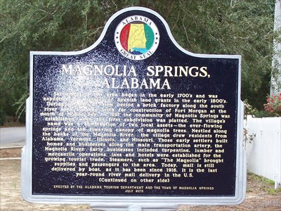magnolia springs spanish girl personals Visit family-friendly dauphin island,  spanish-american war and both world war i and  magnolia springs is located at the headwaters of the beautiful.