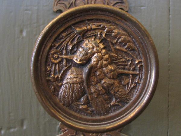Hummingbird doorknobs
