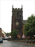 Image for Town Clock on St Lukes Church, Holmes Chapel, Cheshire.UK