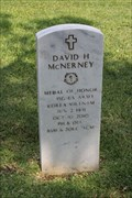Image for 1SGT David H. McNerney, US Army -- Texas State Cemetery, Austin TX