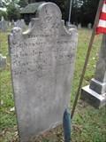 Image for Benjamin Burroughs - Old Pittsgrove Presbyterian Cemetery - Daretown, New Jersey