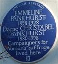 Image for Emmeline and Christabel Pankhurst - Clarendon Road, London, UK