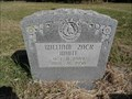 Image for William Zack White - Allison Cemetery - Grayson County, TX