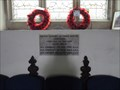 Image for Memorial Plaque - St Giles - Costock, Nottinghamshire
