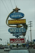 Image for Lyndys Motel Sign - Anaheim CA