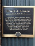 Image for Herold & Kremers Building - 1892 - Holland, Michigan