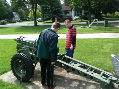 Memorial Park 75 mm Pack Howitzer M116 - Beaverton, OR