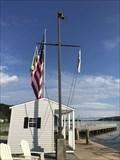 Image for Tome's Landing Marina Flagpole - Port Deposit, MD
