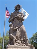 Image for Historic Route 66 - Madonna of the Trail - Upland, California, USA.