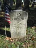 Image for Capt. Seth Bowen – Old Broad Street Presbyterian Church Cemetery – Bridgeton, New Jersey