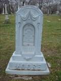 Image for John A. Moore - Elmwood Cemetery - Detroit, MI
