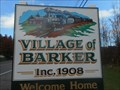 "Image for Village of Barker - ""Welcome Home"" - Barker, NY"