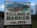 "Image for Village of Barker - ""Welcome Home"" - Barker, NY"