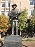 Image for Hank Williams Sr. Statue - Montgomery, Alabama