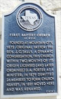 Image for First Baptist Church of Kyle