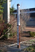 Image for Peace Pole at the Nasser Civic Center Plaza - Corning, NY