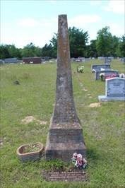 James Richardson, referenced on the historical marker.