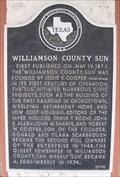 Image for Williamson County Sun