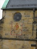 Image for Sundial on Stadtpfarrkirche Lichtenfels