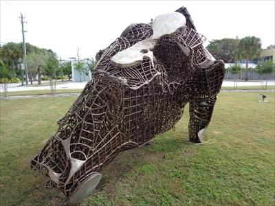 Untitled Sculpture - Sarasota.