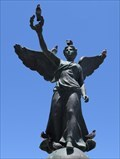 Image for Statue of Victory - Mandraki Harbour, Rhodes, Greece.
