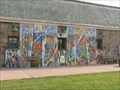 Image for Mural on Museum at Falls Park, Sioux Falls, SD USA