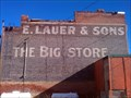 Image for E. Lauer & Sons Ghost Sign - Alturas, CA