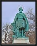 Image for Ladislaus I of Hungary (I. László magyar király) - Hosök tere, Budapest, Hungary