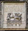 Image for Relief above the northern portal of St. Bartholomew Church / Reliéf nad severním portálem kostela Sv. Bartolomeje - Pardubice (East Bohemia)