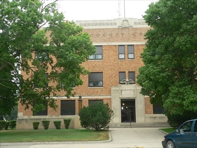 Clark County Courthouse in Clark, SD