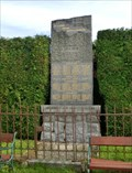 Image for World War Memorial - Maršovice, Czech Republic