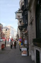 Ye Olde Cock Tavern - Fleet Street, London