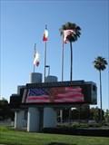 Image for Santa Clara Convention Center Temperature Sign - Santa Clara, CA