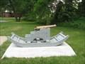 Image for British Light 3-Pounder Cannon, Monroe, MI