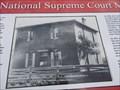 Image for OLDEST - Cherokee Supreme Court Building - Tahlequah, OK
