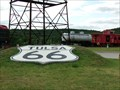 Image for Route 66 Historic Village - Red Fork, Oklahoma, USA.