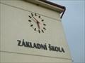 Image for Hodiny na škole / Clock on the School - Koberovy, okres Jablonec nad Nisou, CZ