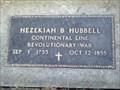 Image for Hezekiah B Hubbell, Continental Line, Revolutionary War