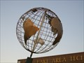 Image for Earth Globe, LATI, Watertown, South Dakota