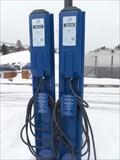 Image for Bornes de recharge publique à La place des Citoyens.  -Ste-Adèle.  -Québec.