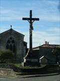 Image for croix eglise saint Michel le Cloud, Pays de Loire, France