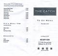 Image for The Catch takeout menu - OKC, OK